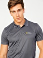 National Geographic National Geographic Antrasit Polo T-Shirt Antrasit